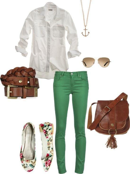 El sueño de una noche de verano (Quedada en la playa) Spring-green-jeans
