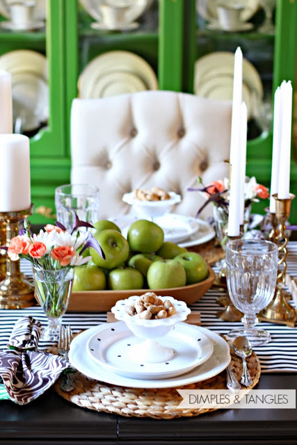 5 Tips For Setting A Beautiful Thanksgiving Table