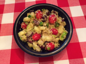 Quinoa Salad (Serves 6) (Photo: Karen Kinnaird )