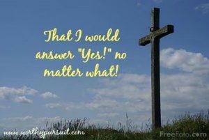 Cross No Matter What
