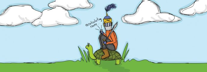 My Turtle-Mounted, Map-Deprived Prince Charming
