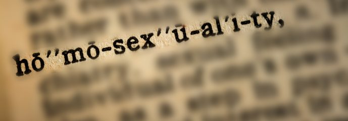 Understanding the word 'Homosexuality' in the Bible