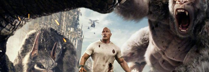 REVIEW: 'Rampage' has its fun moments, but parents beware