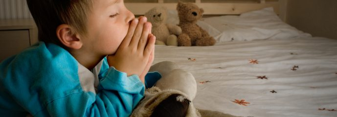 Praying For A Toy Dinosaur (A teachable moment)